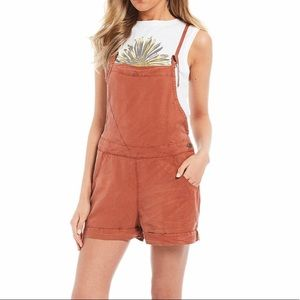 NWT Element Overall Shorts